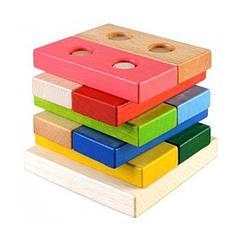 Пирамидка-конструктор Руди Ду-32 Разноцветный tsi26057, КОД: 313476