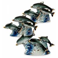 Фигурка Art-East VS-411 Семейство дельфинов 108511, КОД: 1013986