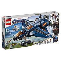 Конструктор LEGO Super Heroes Модернизированный квинджет Мстителей 838 деталей 76126, КОД: 1022622