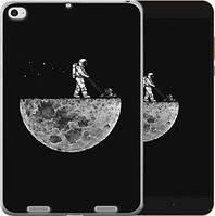 Чехол EndorPhone на Xiaomi Mi Pad 2 Moon in dark Черный серый 4176u-313, КОД: 934638