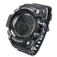 Смарт-часы спортивные Skmei 1227 Black 1227BKB, КОД: 974033