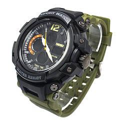 Часы спортивные Skmei 1343 Army Green 1343GRB, КОД: 974276