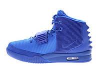 Мужские кроссовки Nike Air Yeezy 2 All Blue размер 45 UaDrop111394-45, КОД: 239637