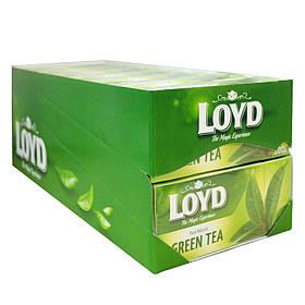 Чай в пакетиках Loyd Зеленый 20 х 1.5 г 14 упаковок, КОД: 1074644