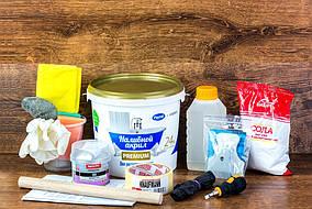 Набор для реставрации ванны ПРОСТО И ЛЕГКО с жидким акрилом Plastall Premium на ванну 1.7 м Nabre, КОД: 951780