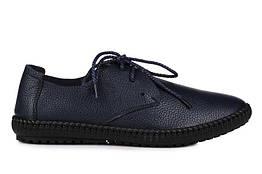 Мужские кроссовки Casual Sneakers Blue M размер 43 Черные UaDrop116866-43, КОД: 238563