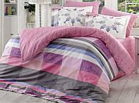 Комплект постельного белья Hobby 4703 Евро Поплин 200х220 см Разноцветный psgSA-4703, КОД: 944337