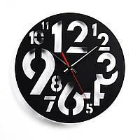 Деревянные настенные часы Moku Arakawa 38 x 38 см 0102, КОД: 1076164