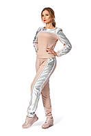 Костюм SL-FASHION 42-44 Пудра Светло-розовый SLF-679.01-1, КОД: 739757