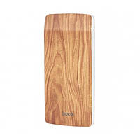 Универсальная батарея Power Bank Hoco J5 Wooden 8000 mAh Walnut sni36650, КОД: 1093859