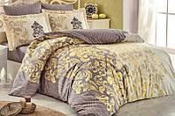 Комплект постельного белья Hobby 4724 Евро Поплин 200х220 см Кофейный psgSA-4724, КОД: 944295