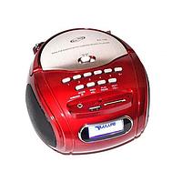 Портативный бумбокс GOLON RX-186 QI Красный 1em000863, КОД: 897619