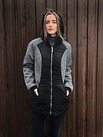 Куртка женская удлиненная OXI  54 Черный WKL-1.341-01, КОД: 717638