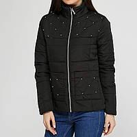 Куртка на молнии женская весенняя OXI 50 Черный 1t300350, КОД: 723977