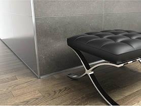 Вертикальный алюминиевый профиль Profilpas Cerfix Proangle AX M Design, для внешних углов керамической плитки
