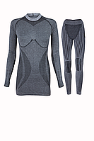 Комплект женского термобелья Haster Alpaca Wool S M Черный, КОД: 124758