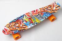 Скейт PENNY BOARD Cool Draft 2 Graffiti 1621, КОД: 144890