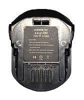 Аккумулятор для шуруповерта AEG B1215R 3.0Ah 12V Черный 463657, КОД: 1098827