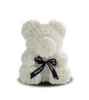 Мягкая игрушка Bear Мишка из роз Белый 25 см 63262, КОД: 984599