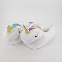 Женские тапочки-игрушки Kronos Top Единороги размер 35-38 stet1254,3, КОД: 943761