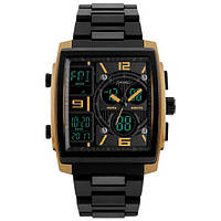 Мужские наручные часы SKMEI 001274 Черные 30-SAN357-2, КОД: 913266