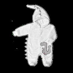 Комбинезон трикотажный Dexters Дракоша 68 см Белый d12062, КОД: 1058979