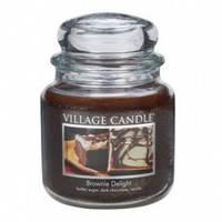 Свеча Village Candle Шоколадный Брауни 455г время горения до 105 часов, КОД: 1089180