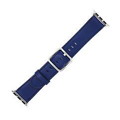 Ремешок Grand Classic Buckle для Apple Watch 38 40 мм Midnight Blue, КОД: 382393