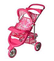 Коляска для куклы Kronos Toys 9614  прогулочная Розовая int9614, КОД: 961421