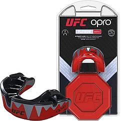 Капа OPRO Platinum UFC Hologram Red Black UFCPlatinumRed, КОД: 977642