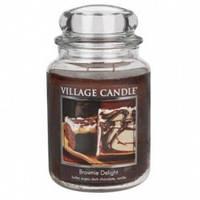 Свеча Village Candle Шоколадный Брауни 740г время горения до 170 часов, КОД: 1089419
