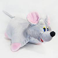 Игрушка-подушка Kronos Toys Мышка zol247, КОД: 120651