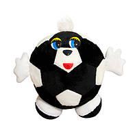 Мягкая игрушка Kronos Toys Мячик с ручками Черно-белый zol433-2, КОД: 120691