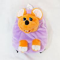 Рюкзак детский Kronos Toys Мышка Сиреневый zol267-3, КОД: 120674