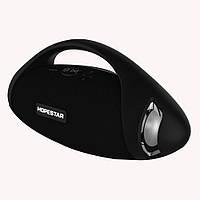 Портативная Bluetooth колонка Hopestar H37 с влагозащитой Black USB FM FL-391, КОД: 1083817