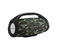 Портативная Bluetooth колонка Hopestar H32 с влагозащитой Camouflage USB FM FL-411, КОД: 1083838
