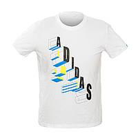 Чоловіча Футболка Adidas CT 1102 XL White 34656, КОД: 1022850