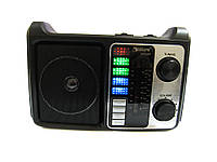 Портативная колонка-радио Golon RX-333 BT Wooden sp3229, КОД: 197347