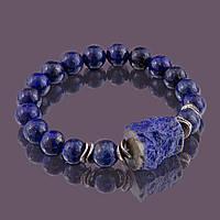 Браслет sherl Лазурит 18 см Синий бр-лзр-025, КОД: 1070755