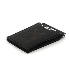 Зажим для Купюр Anchor Stuff с двумя отделениями для карт as110202 Чёрный, КОД: 188732