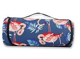 Водонепроницаемый коврик для пикника Kronos Top Фламинго, КОД: 109010