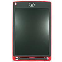 Графический планшет Lesko LCD Writing Tablet 8.5 Red 2679-9109, КОД: 1074403