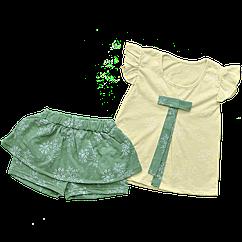 Костюм Dexters Summer Color 98 см Желтый + зеленый d149-22, КОД: 1082200