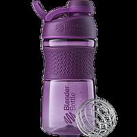 Спортивная бутылка-шейкер BlenderBottle SportMixer Twist 590 ml Plum, КОД: 977698