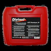 Трансмиссионное масло Divinol ATF Premium VI 20 л 51810-20 L, КОД: 944172