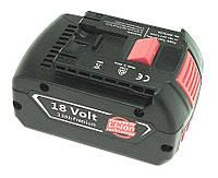 Аккумулятор для шуруповерта Bosch 2607336091 3.0Ah 18V Черный 436387, КОД: 1098811