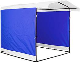 Торговая палатка PromoZP Стандарт 2х2 м Белый Синий 2l6p4v, КОД: 961703