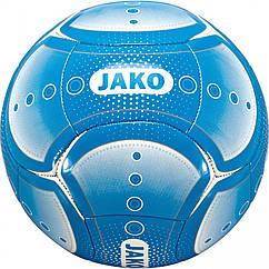 Футбольный мяч JAKO Promo White-Blue 4050144822941, КОД: 199310