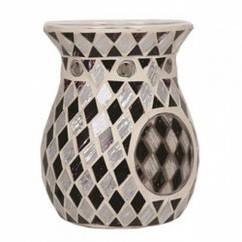 Аромалампа Village Candle Черные и Белые Бриллианты 14 см 95737, КОД: 1089837