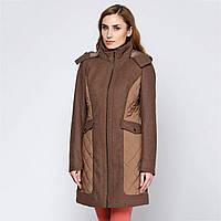 Пальто Geox W2415B MELANGE DK STONE 44 Серый W2415BMLDST, КОД: 706019
